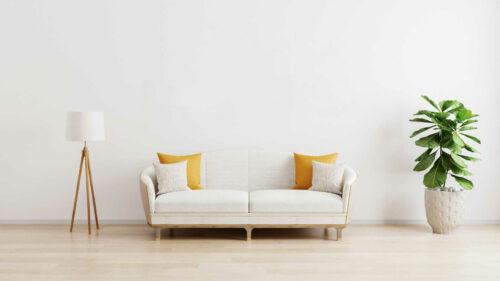 Minimalistischer Wohnstil