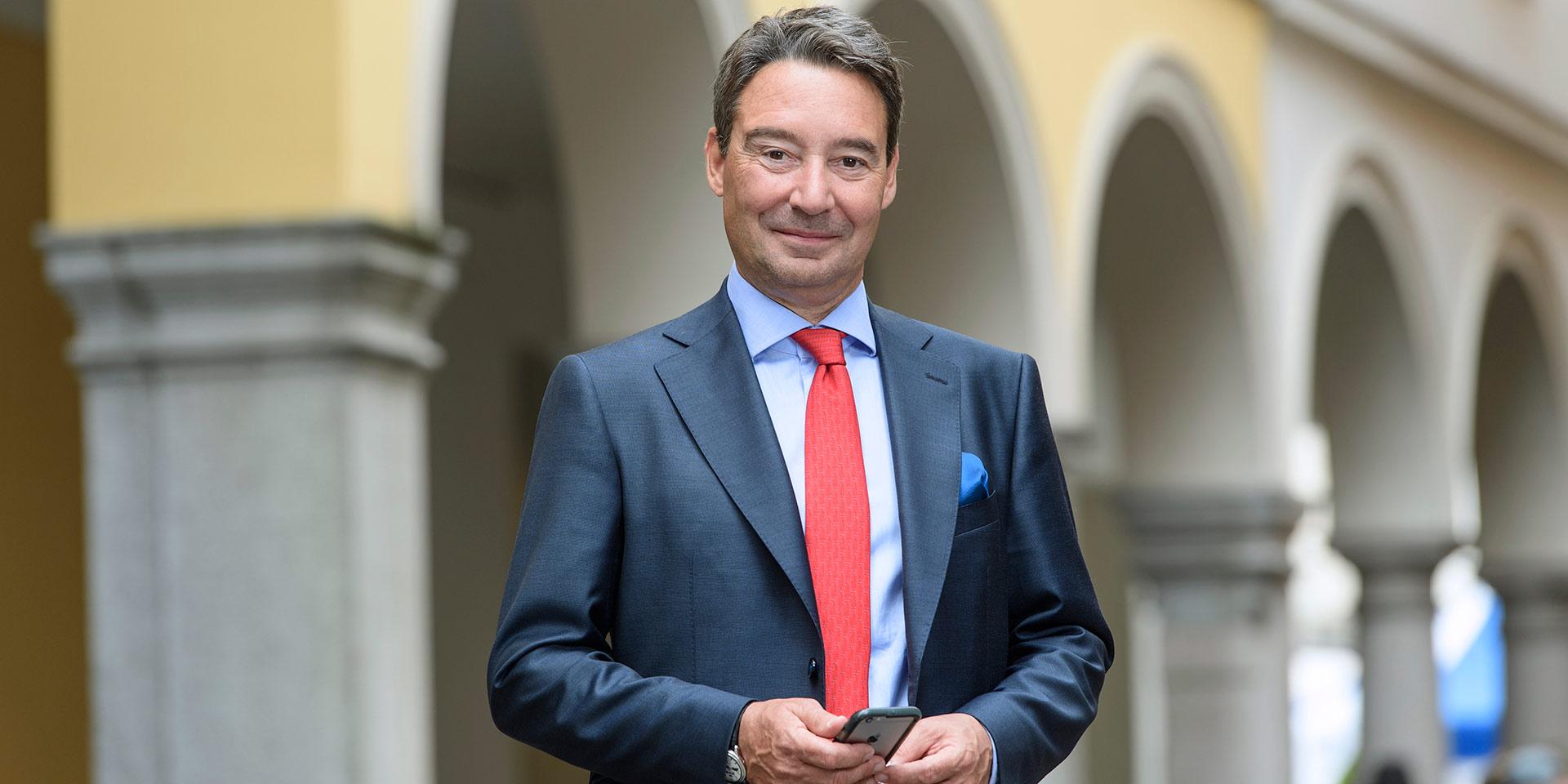 Serge Pavoncello Gérant de fortune