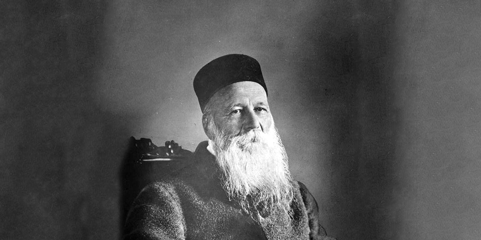 Henry Dunant in späteren Jahren (genaue Datierung unbekannt)