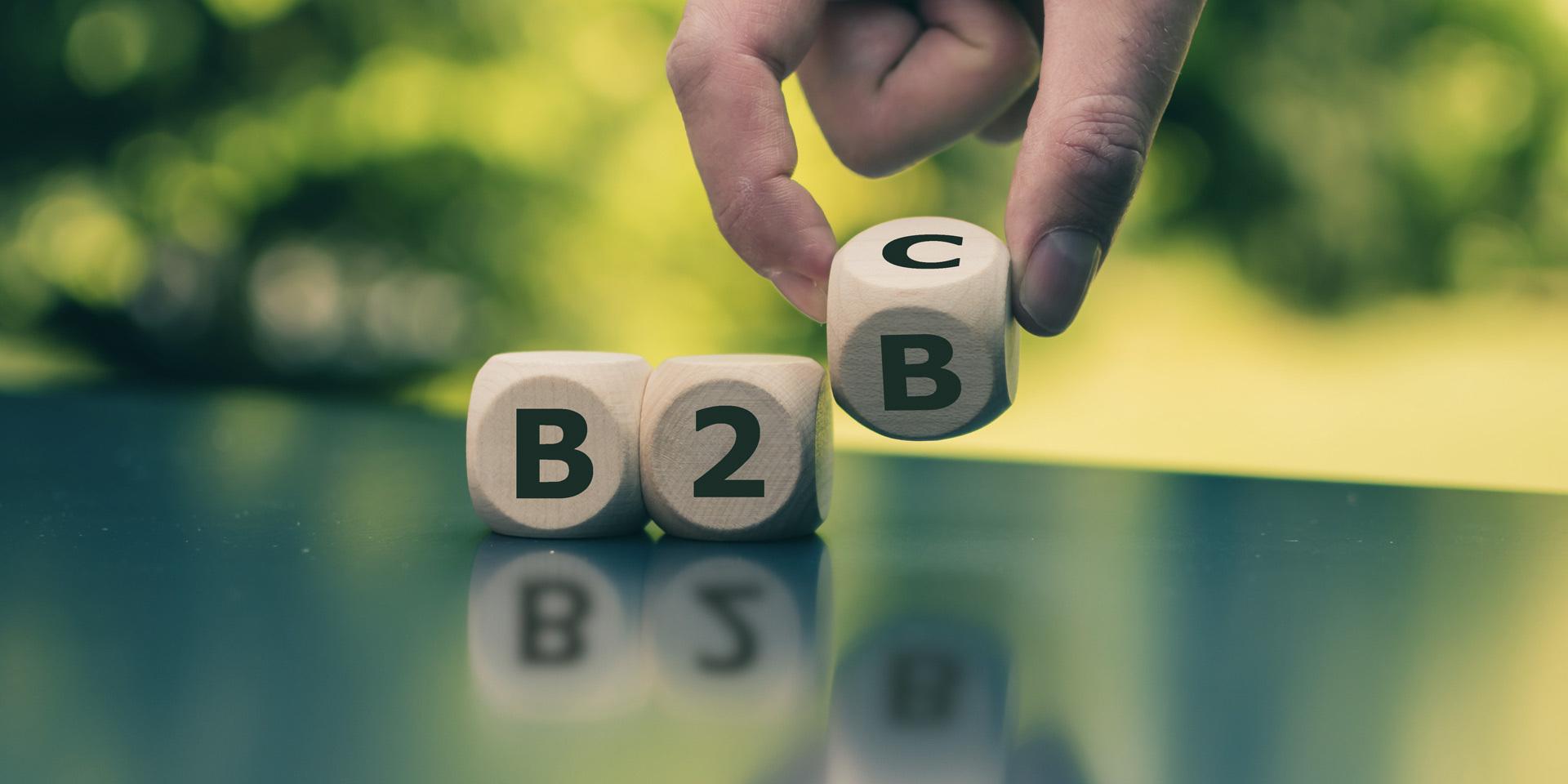 Faire la différence entre B2B et B2C