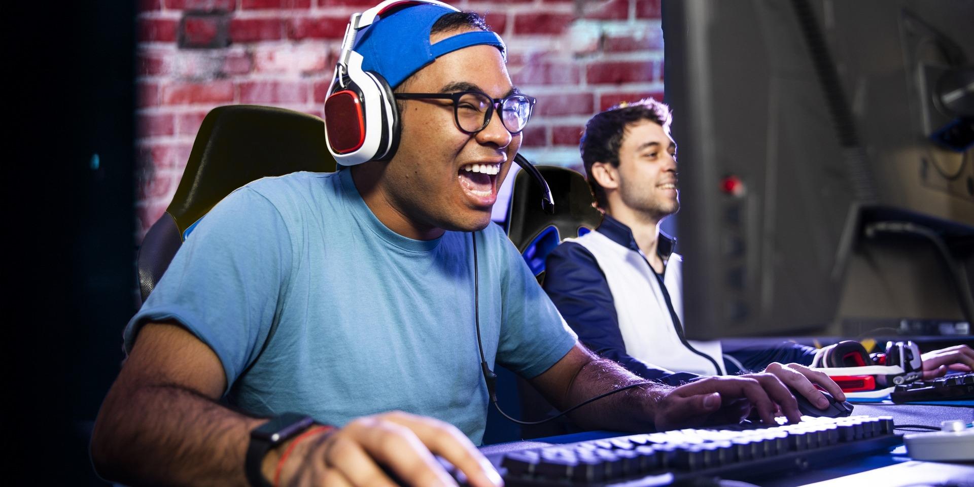 esport jeux vidéo jeune homme