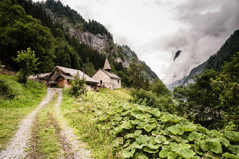 Die Schweiz als Ferienland bezaubert in St. Martin SG